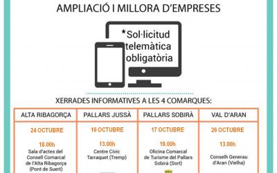 CONVOCATÒRIA OBERTA: Sessions informatives (Ajuts Leader 2017)