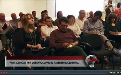 Jornades Participatives realitzades als Pallars. Notícies de Tv Pirineus